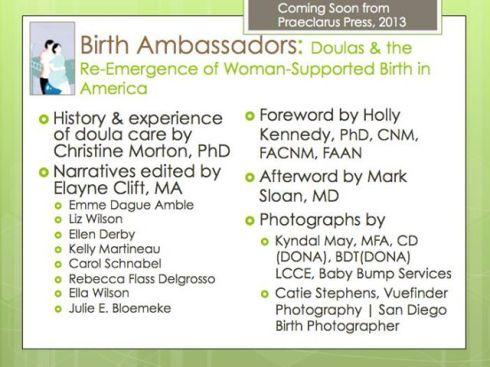 Birth Ambassadors Contributors